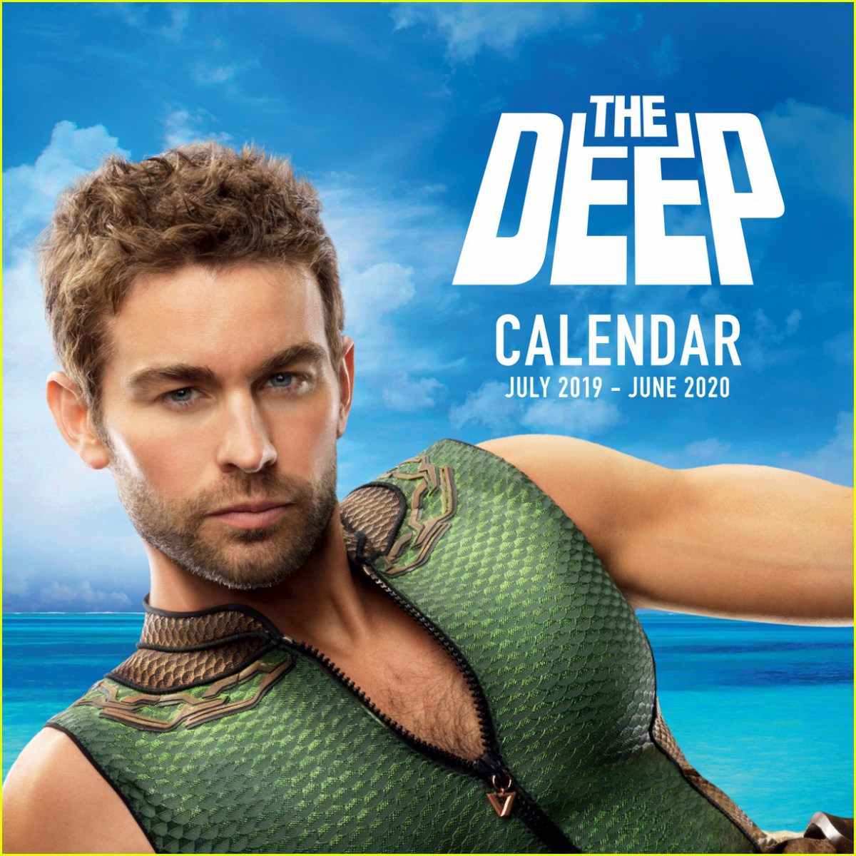 The Deep Calendar (featuring Chace Crawford from Amazon's The Boys) July 2019 - June 2020