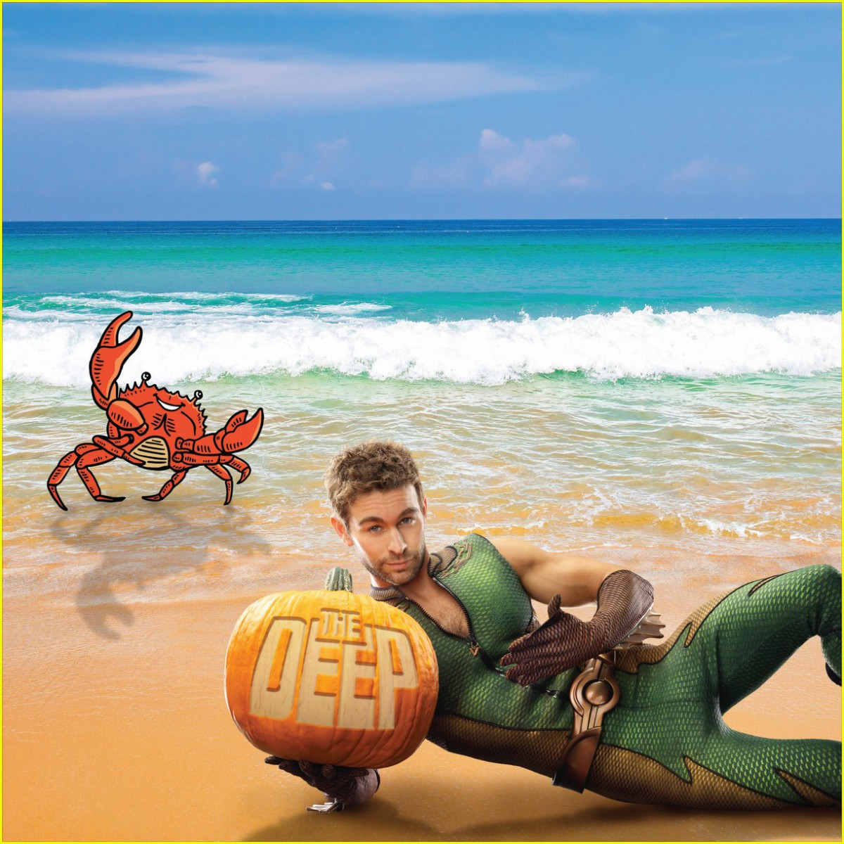 The Deep Calendar - October 2019 (featuring Chace Crawford from The Boys)