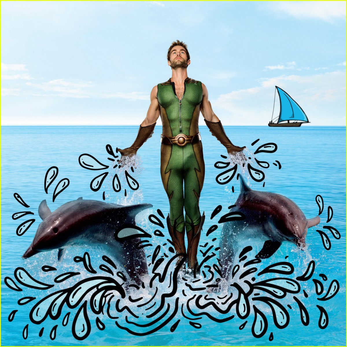 The Deep Calendar - March 2020 (featuring Chace Crawford from The Boys)