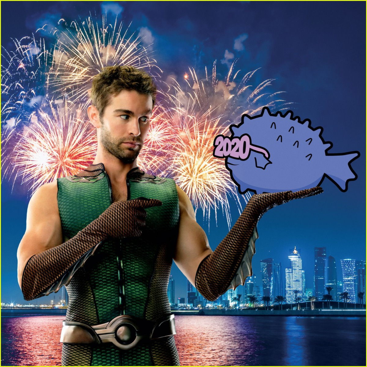 The Deep Calendar - January 2020 (featuring Chace Crawford from The Boys)